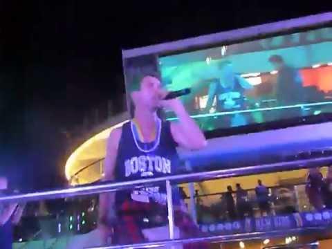 NKOTB Cruise 2013 - May.21.2013 - GPS Night - Joey & Danny sing I Need A Melody