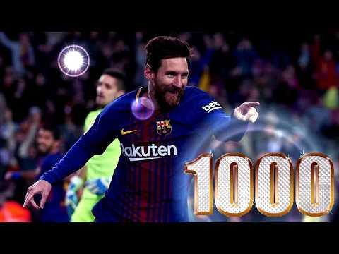 Messi 1000 goles