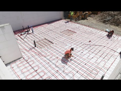 RADIANT FLOOR HEATING IS FINISHED! (Final Slab Prep)