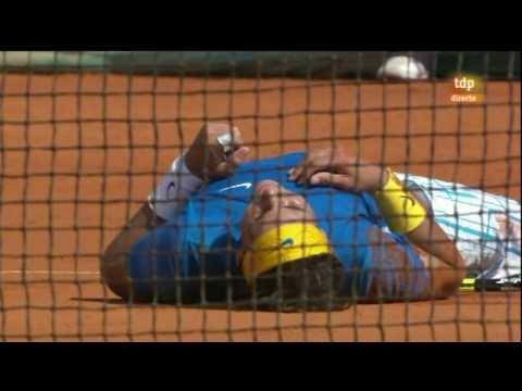 Rafa Nadal vs. Fernando Verdasco, 6-0, 6-1 final Monte-Carlo 2010