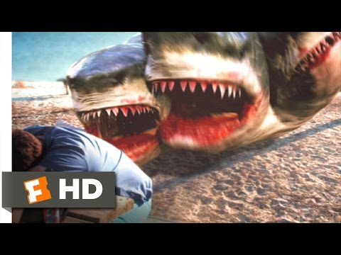 3 Headed Shark Attack 110 Movie   Get Out of the Water 2015 HD