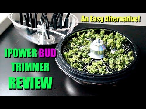 IPOWER 16 INCH MANUAL BUD TRIMMER REVIEW