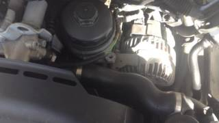 BMW 325i P0444 Fuel Tank Breather (Purge Valve) Valve Change  - E46 M54 Engine