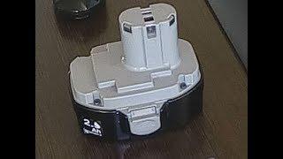 Ремонт батареї шуруповерта Макіта своїми руками в домашніх умовах