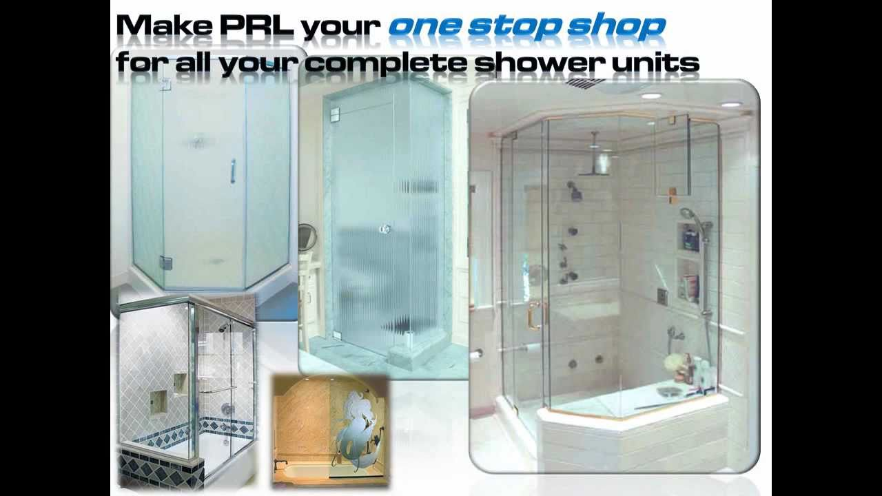 Shower Door Systems By Prl Glass Youtube