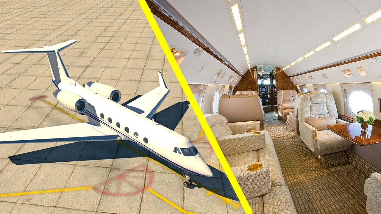 X-Plane 11 - LUXURY PRIVATE JET! (Gulfstream IV) Flight Simulator Houston,  TX to Palm Beach, FL
