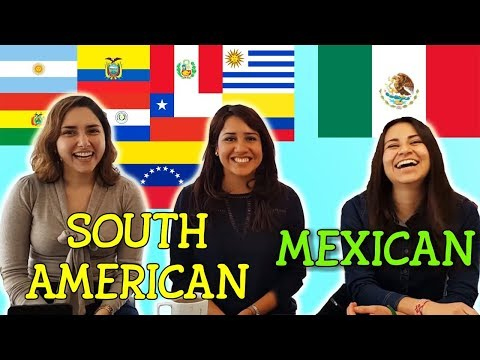 Mexican vs South American Challenge