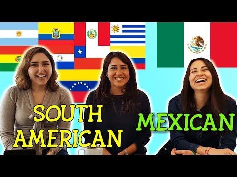 Slang Challenge: Mexican Vs South American