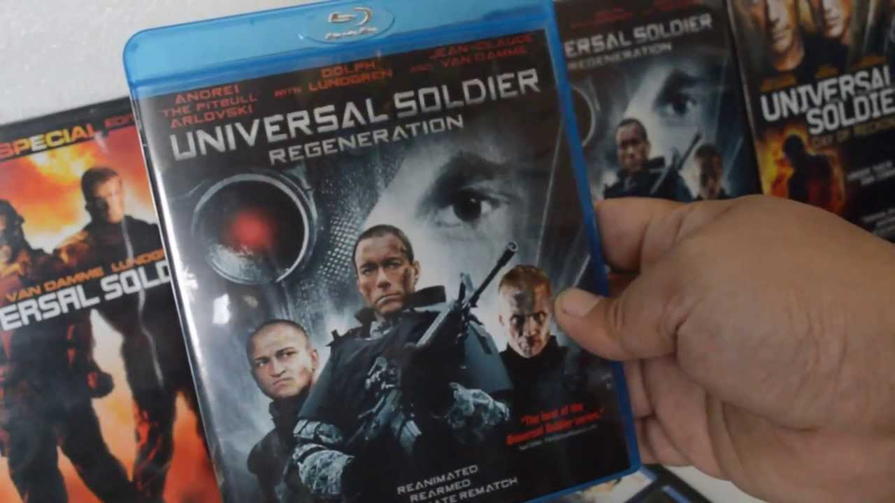 Download UNIVERSAL SOLDIER REGENERATION BLU-RAY UNBOXING + FREE DIGI COPY CODE GIVEAWAY