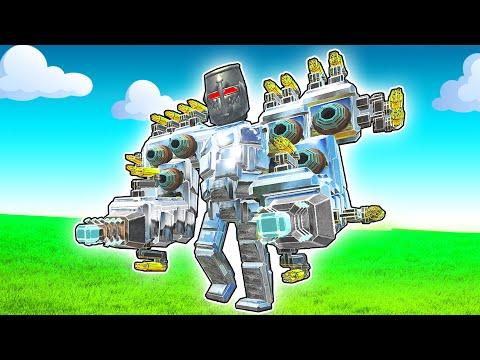 The MOST Powerful MEGA ROBOT Ever To Exist! - Animal Revolt Battle Simulator ARBS