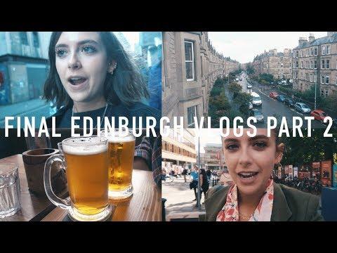 Final Edinburgh Vlogs: Part 2 | sunbeamsjess