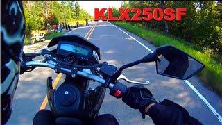 2009 Kawasaki KLX250SF Videos