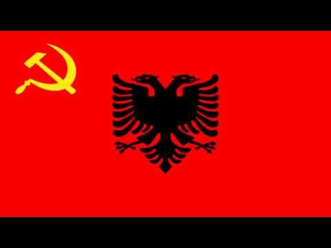 Bandera de la República Democrática de Albania (1944-46) - Democratic Republic of Albania (1944-46)