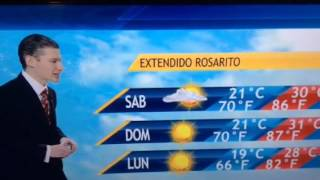Pronostico extendido clima Tijuana, San Diego