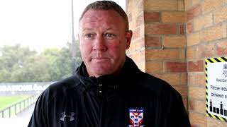 Farsley Celtic 1-1 York City | Steve Watson Post-Match