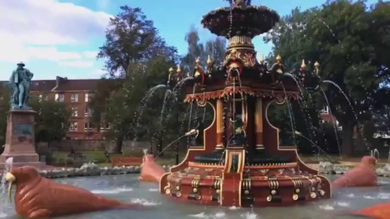 Fountain Gardens Paisley, Scotland