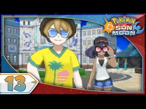 Pokémon Sun And Moon - Part 13   Akala Island! [NEW Nintendo 3DS 100% Walkthrough]