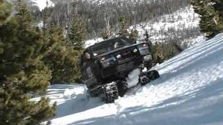 Repeat youtube video Extreme Hagglunds - Spring Snow Madness!