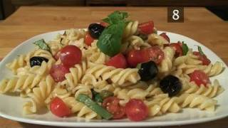 How To Prepare Fusilli Pasta Salad