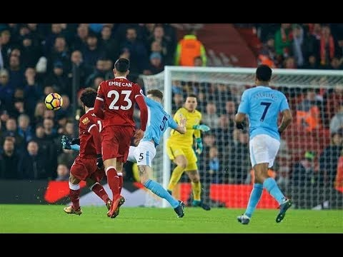 Salah GOAL vs Man City | Liverpool vs Man City 4-3 | View From The Stands