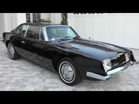 1964 Studebaker Avanti with 7K Miles Review and Test Drive by - Bill Auto Europa Naples