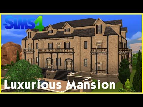 Sims 4 Speedbuild: ★ Luxurious Mansion ★