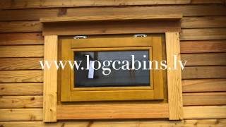 Camping Pods - log cabins lv-2014