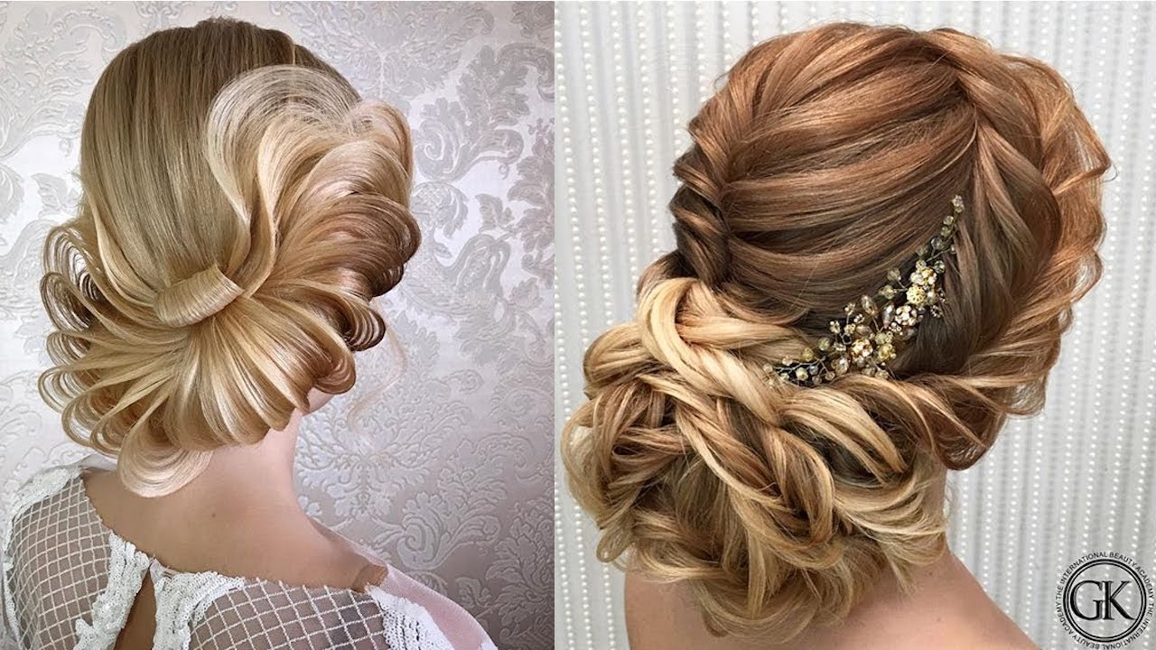 Georgy Kot Top 16 Wedding and Bridal hairstyles - YouTube
