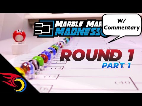 Round 1 (pt 1) - Marble March Madness 2019 | Toy Racing