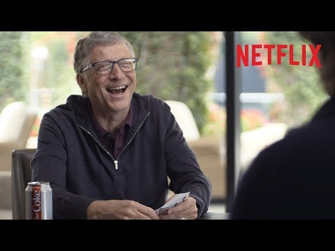 Bill Gates gets super lucky playing cards! | Netflix
