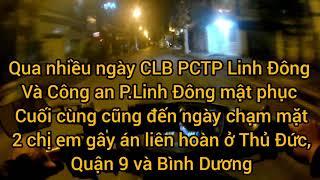 """CLB PCTP Linh Đông + Công an Phường bắt quả tang 2 chị em đột nhập tại Shop """" Con Cưng"""""""