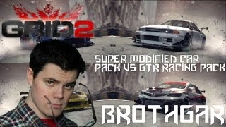 GRID 2 Super Modified Car Pack VS GTR Racing Pack