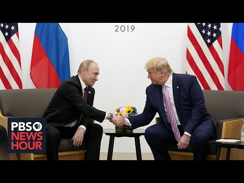 Russia Bounty Reports, U.S. Troop Movements Put Trump-Putin Relationship In Spotlight