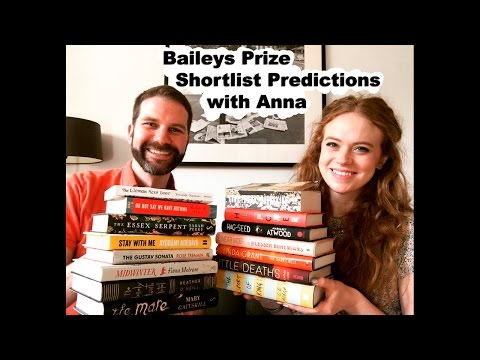 Baileys Prize Shortlist Predictions with Anna from A Case for Books