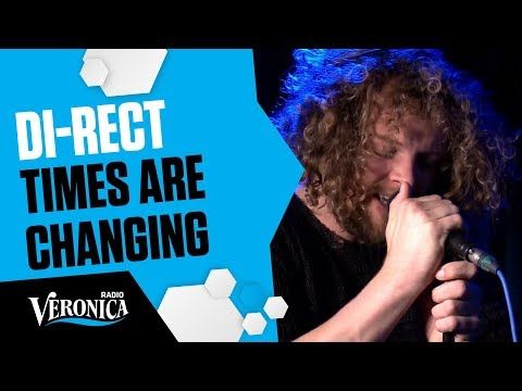 DI-RECT - TIMES ARE CHANGING _Live bij Giel - Radio Veronica