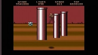 SPACE HARRIER II (C64 - FULL GAME)