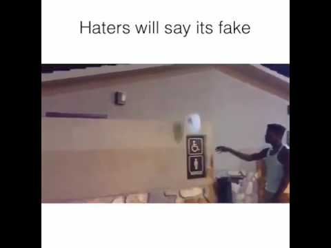Water bottle challenge|| WARNING:Haters will say it's fake