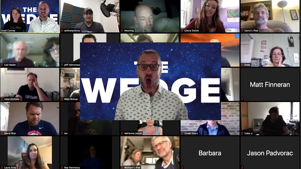The Wedge's Virtual Book Launch Party