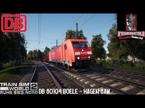 DB 80104 Boele - Hagen 8am - Ruhr Sieg Nord - Train Sim World 2 - IN 4K  