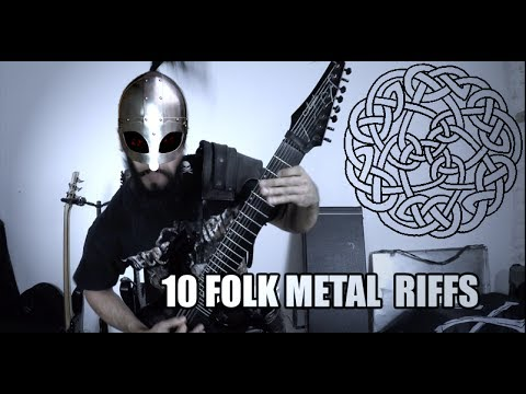10 Folk metal riffs