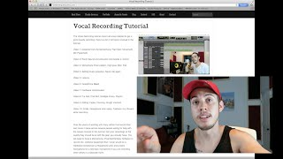 Recording Vocals - The top 3 mistakes people make - Acoustics, Latency, Clipping