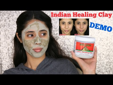 Aztec Secret Indian Healing Clay Demo (with water) | Arzan Blogs