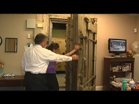 Ancient safe opened at the State House
