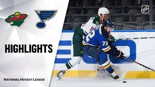 Wild @ Blues 5/13/21 | NHL Highlights