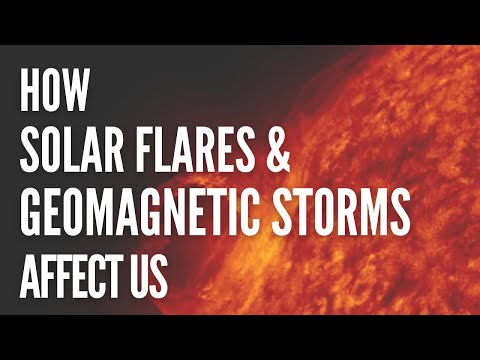 How Solar Flares & Geomagnetic Storms Affect Us - Natalia Kuna