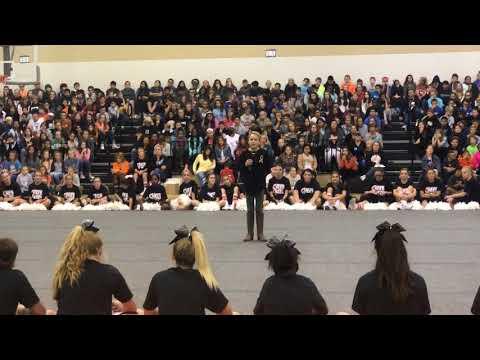 Sadie's speech at Harpool Middle School