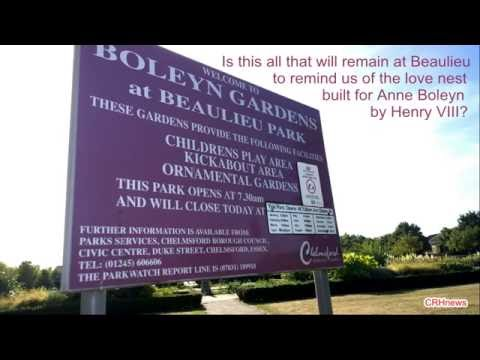 CRHnews - How many tourists will Boleyn Gardens attract?