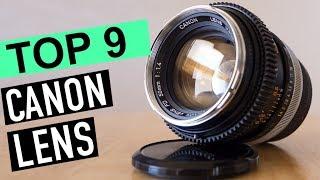 BEST 9: Canon Lens 2018