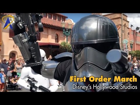 Star Wars March of the First Order at Disney