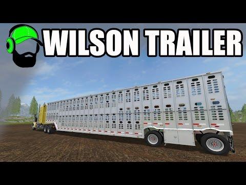 Farming Simulator 17 Mod - American Livestock Trailer -#FS17
